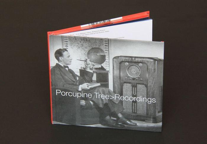 porcupine tree - recordings - okladka
